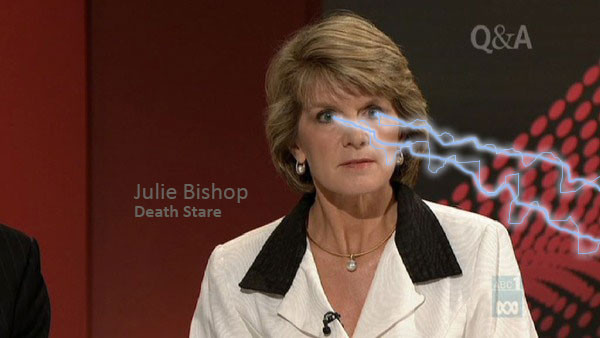 Oh Julie...you so sassy...why you so sassy guuuuurl?
