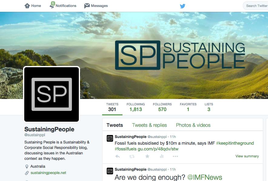 Sustainppl Twitter