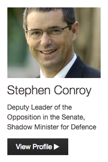 Stephen Conroy